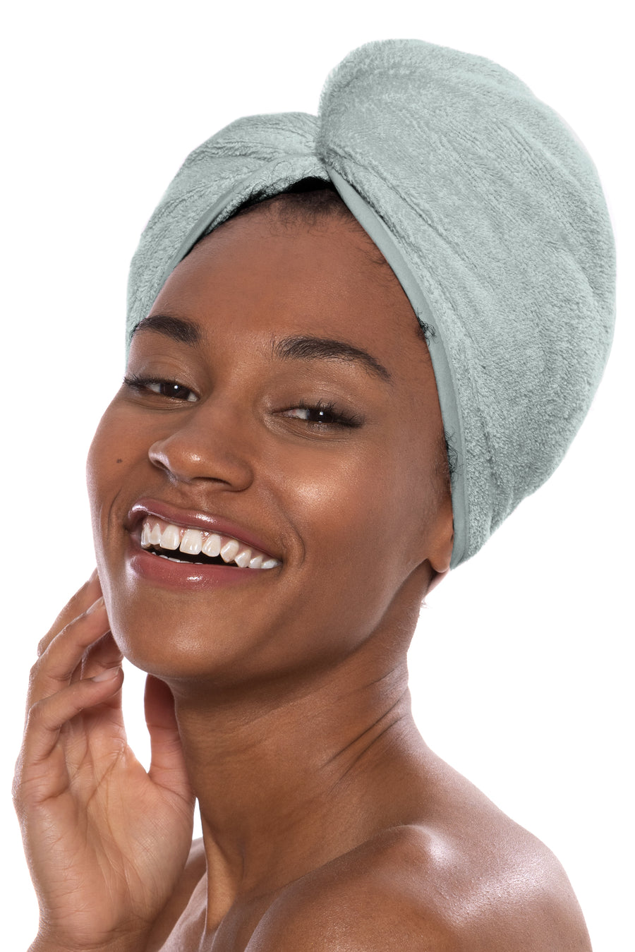Tya - Women's Bamboo Viscose Spa Hair Towel - TexereSilk