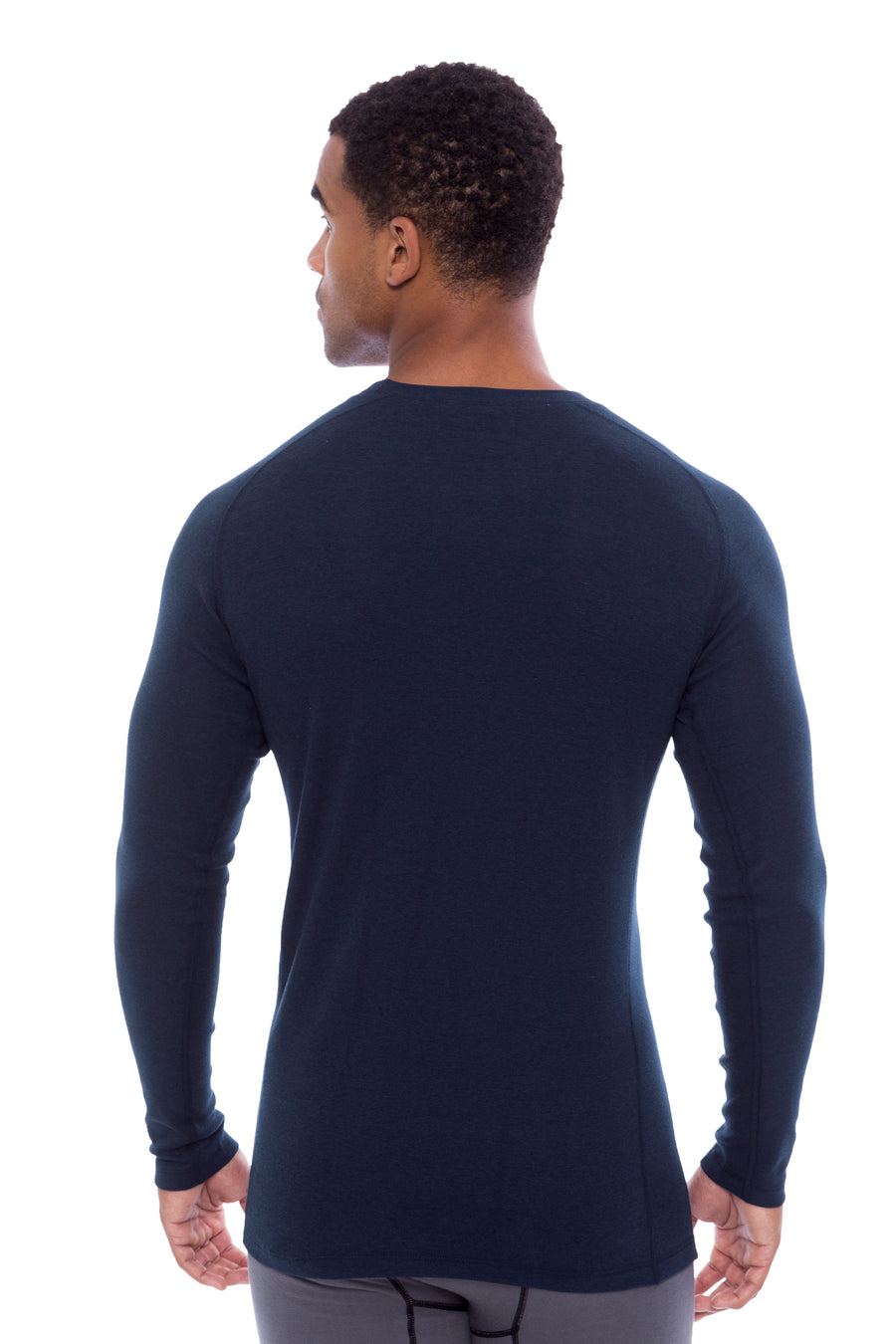 Dirann - Men's Bamboo Viscose Thermal Layer Top - TexereSilk