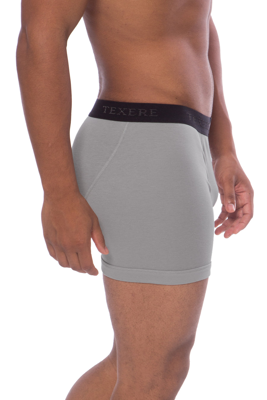 Men's Bamboo Viscose Boxer Briefs - TexereSilk