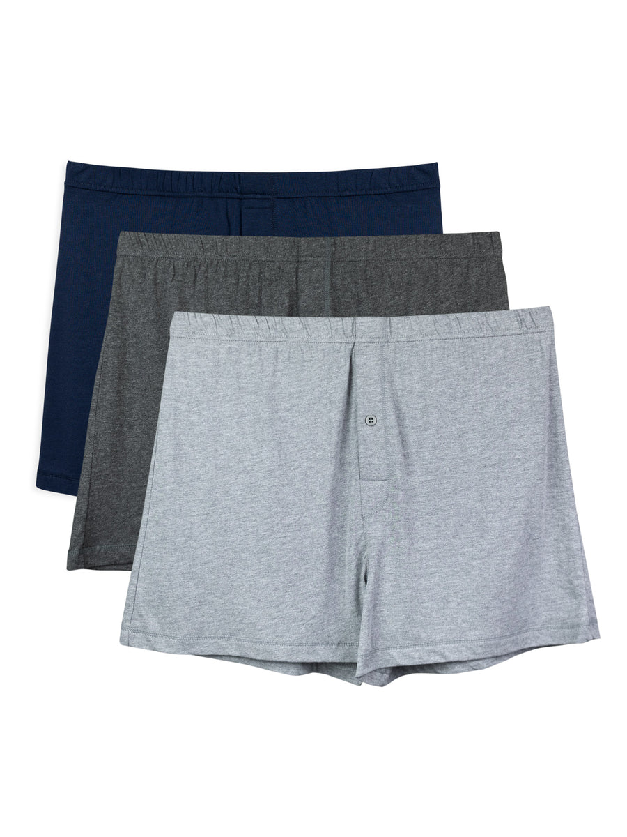 Sancus - Men's Bamboo Viscose Boxers - 3 Pack