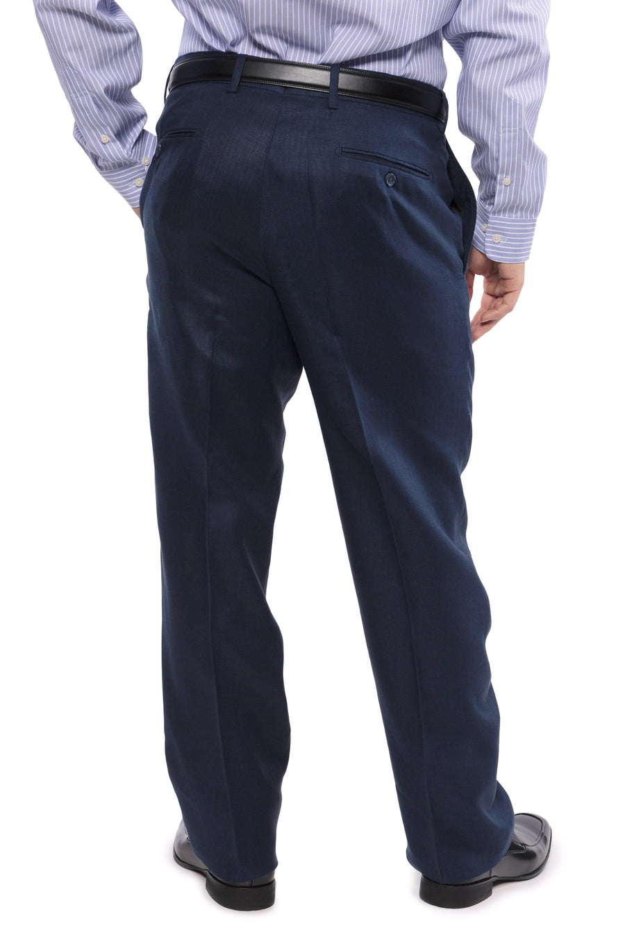 Menton - Men's Tailored Linen Dress Pants - TexereSilk