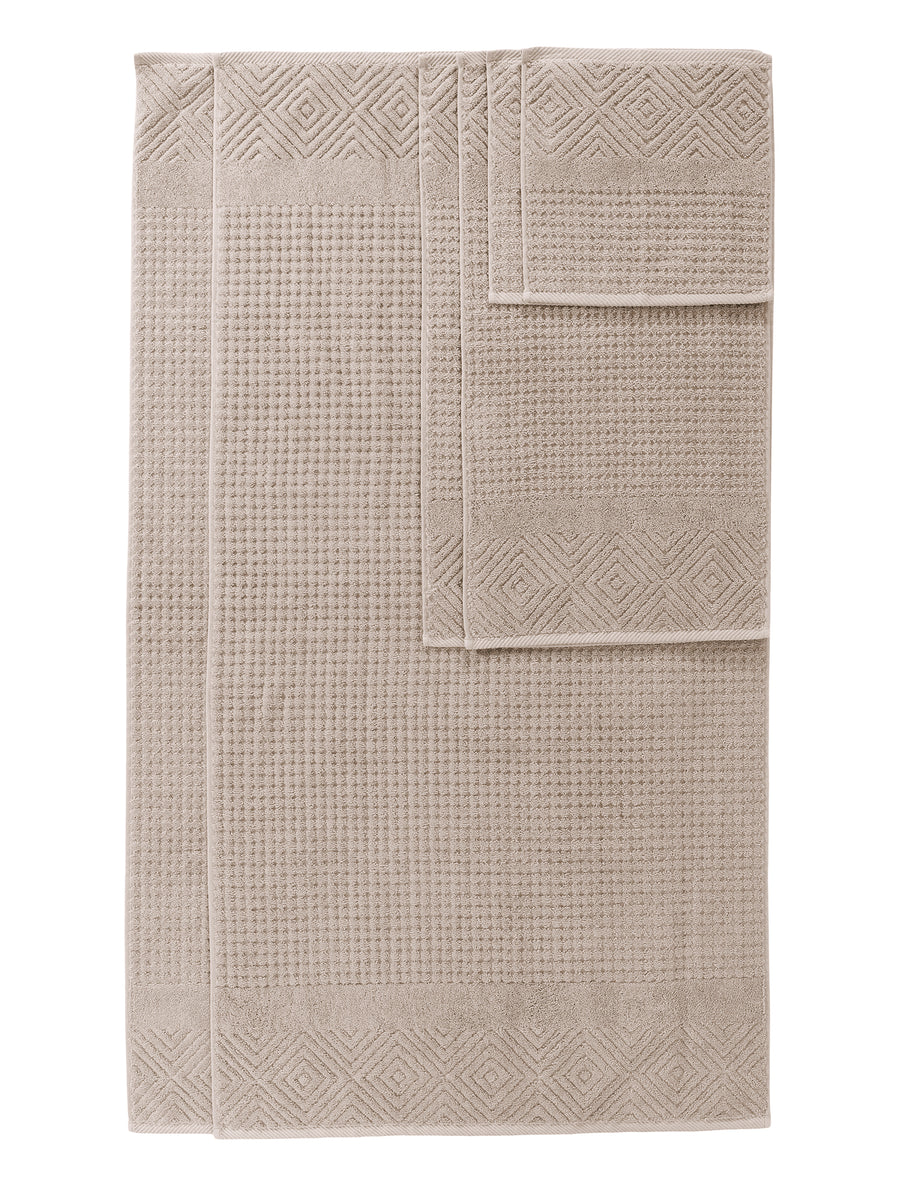 Stylish Gifts by Texere Tansy, 6-Piece, Black Popular Unique Gifts for The Home TX-HC263-001-BLCK-R-6 TexereSilk 100/% Organic Cotton Jacquard 6 Piece Towels
