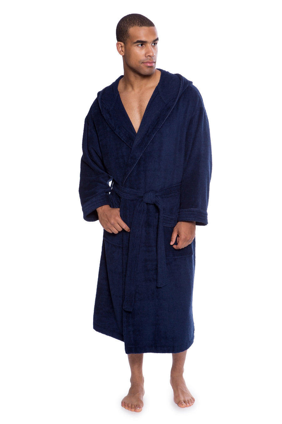Eklips - Men's Bamboo Viscose Terry Hooded Robe - testing23451234 - Robes