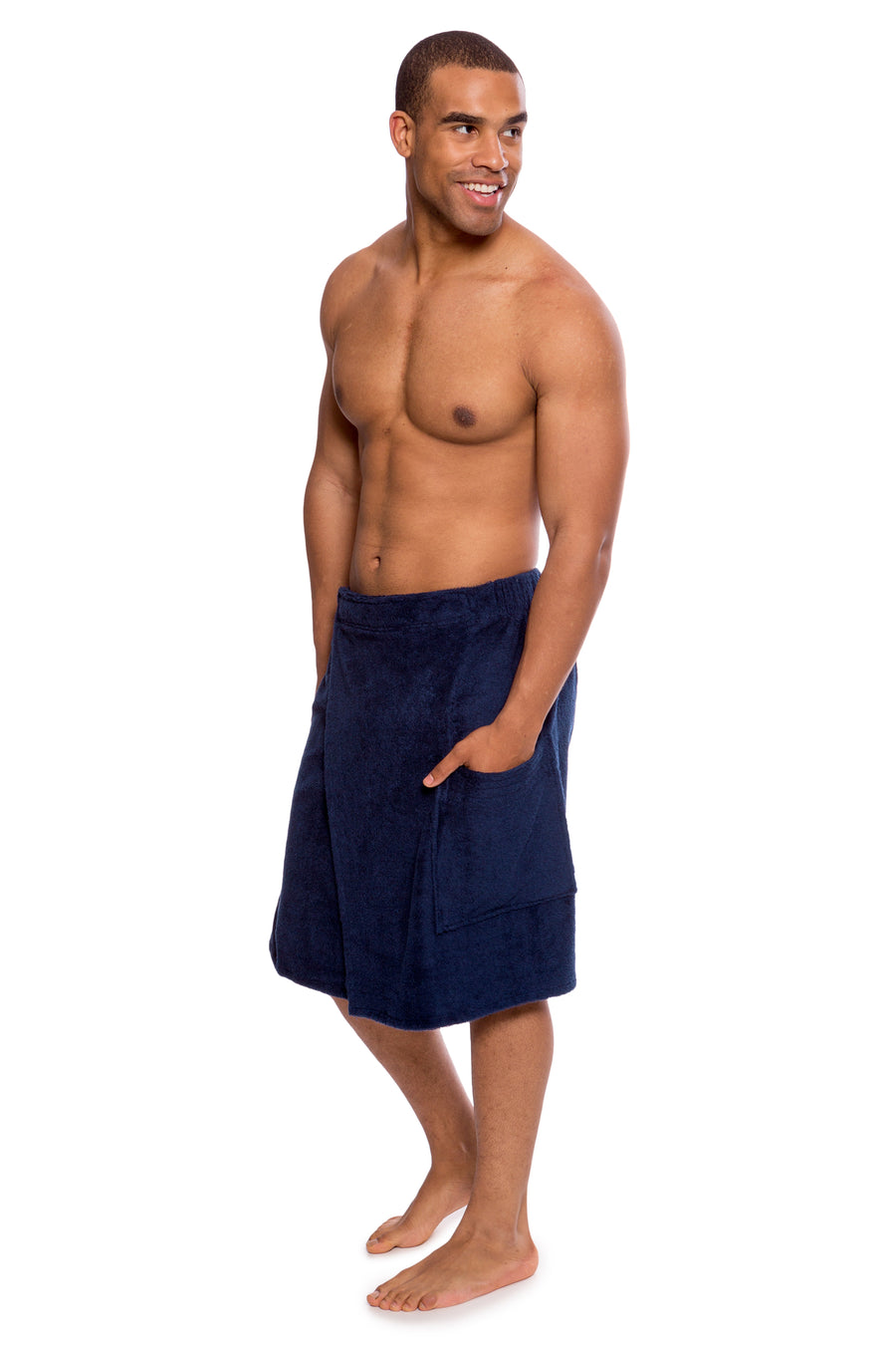 Forestcalm - Men's Bamboo Viscose Spa Wrap - TexereSilk