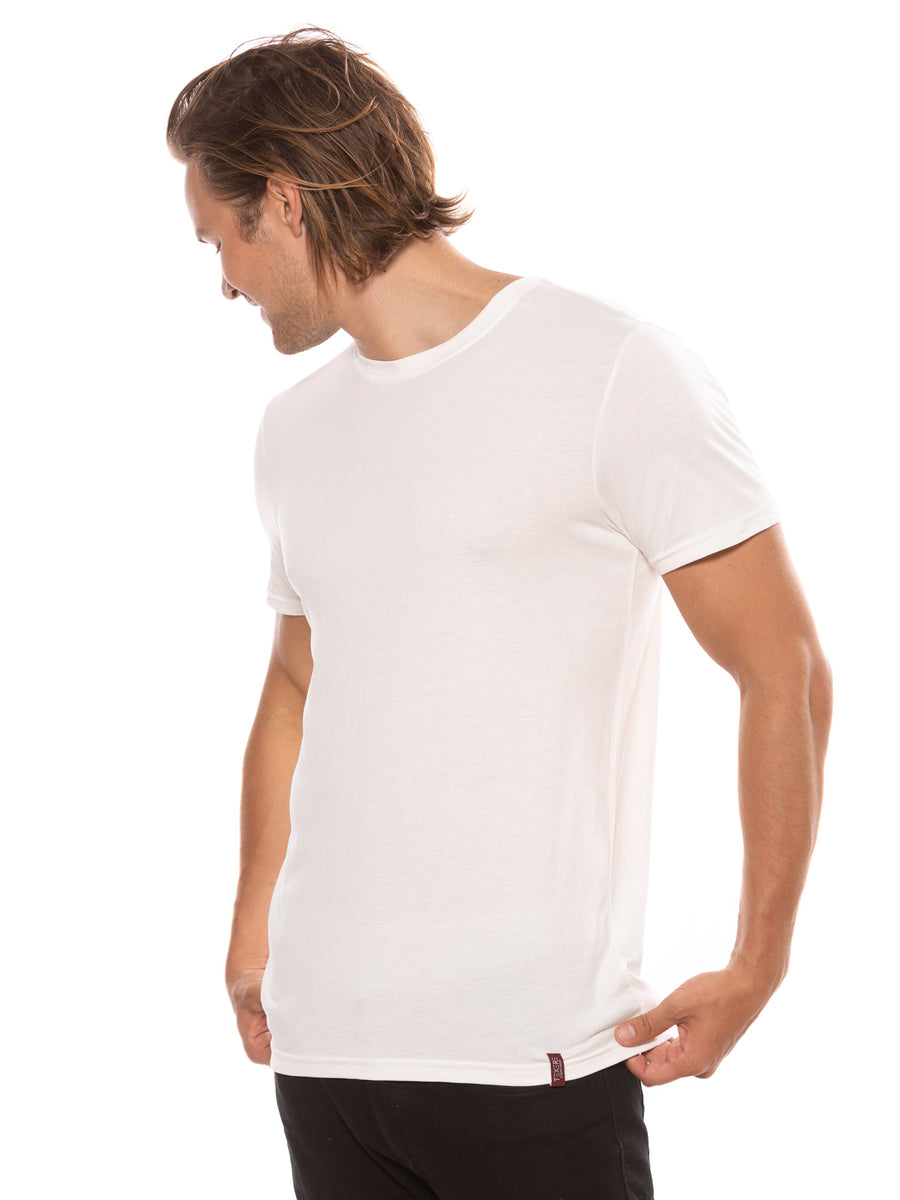 Komi - Men's Organic Pima Cotton Crew Neck T-Shirt - TexereSilk