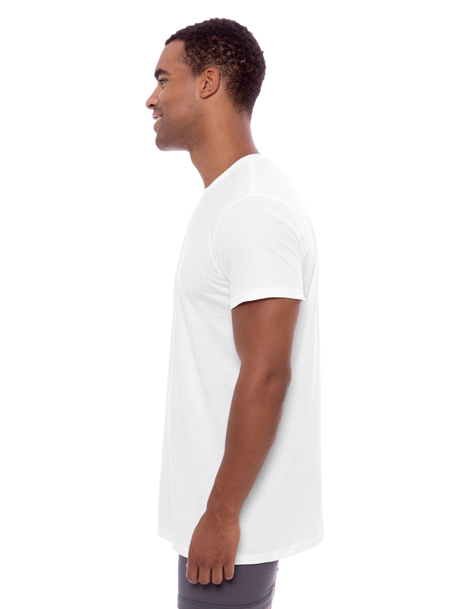 Kilda - Men's Organic Cotton Crew Neck Undershirt - TexereSilk