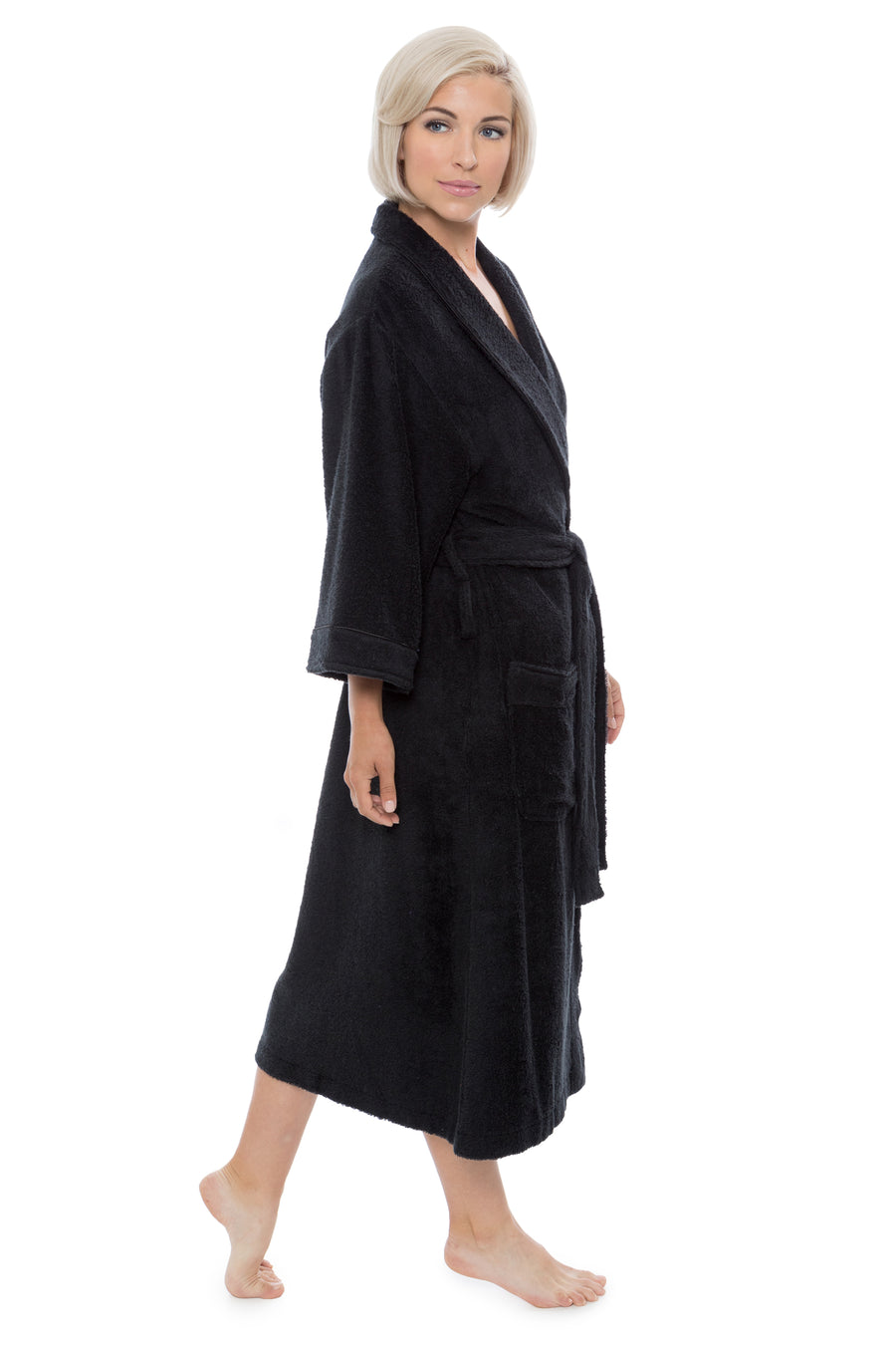 Ecovaganza - Women's Bamboo Viscose Terry Bath Robe - testing23451234 - Robes