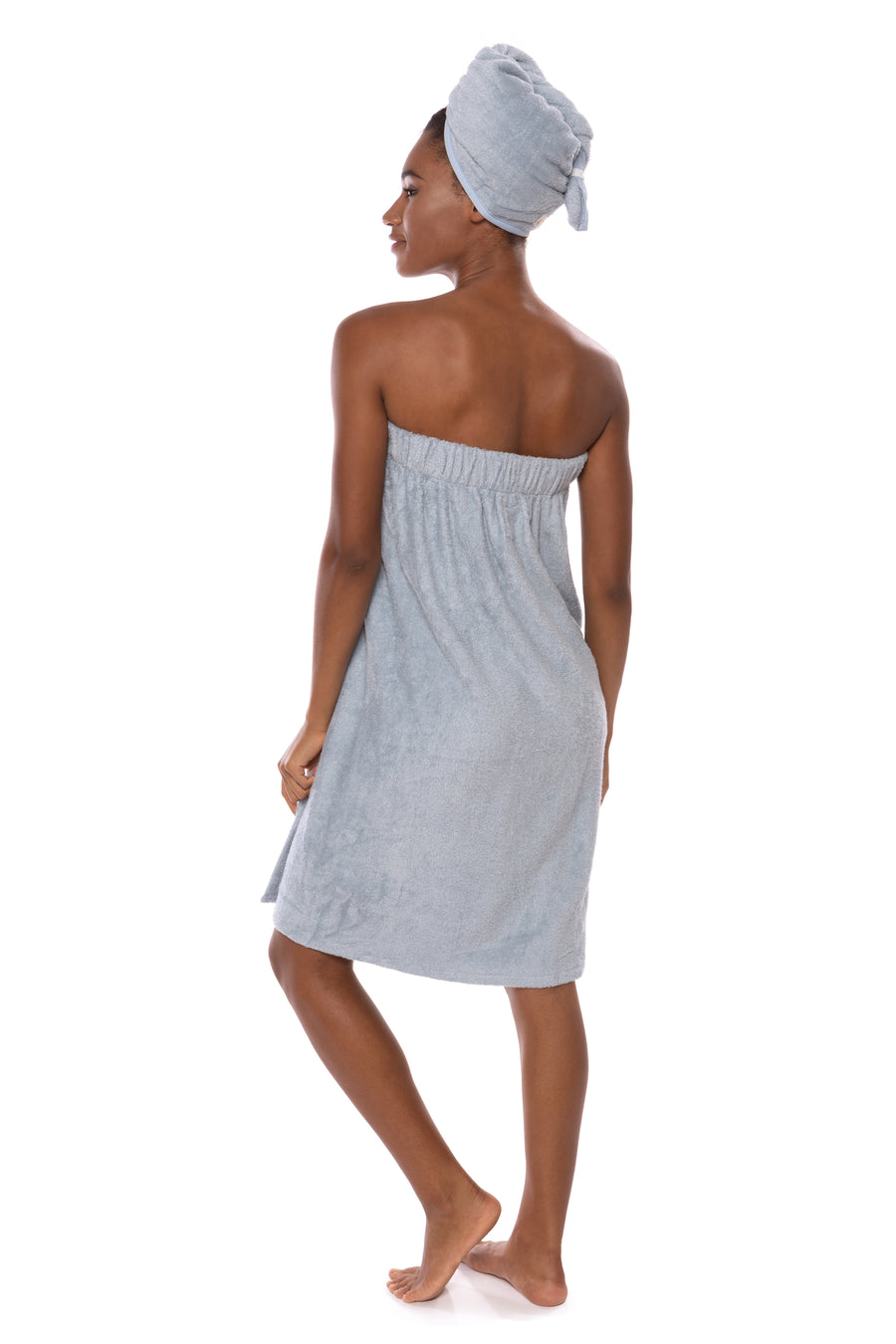 The Waterfall - Women's Bamboo Viscose Spa Wrap - TexereSilk