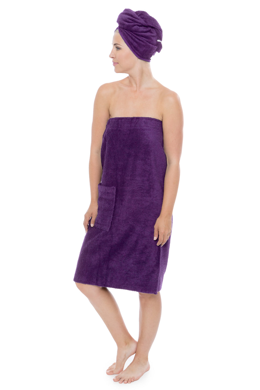 The Waterfall - Women's Bamboo Viscose Spa Wrap - testing23451234 - Towels