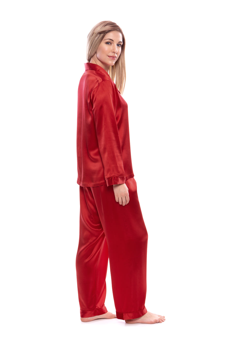 Morning Dew - Women's Silk Classic PJ - TexereSilk