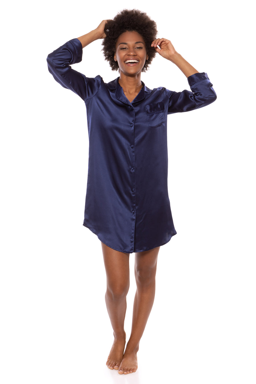 Dreamfest - Women's Silk Sleep Shirt - TexereSilk