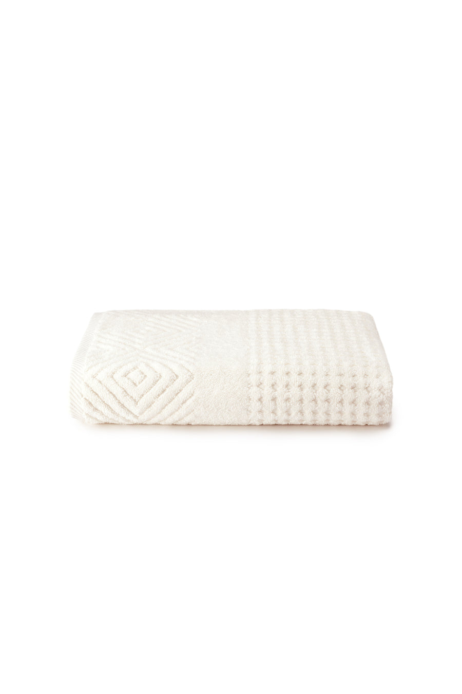 Jacquard Bath Towel - Organic Cotton Jacquard - testing23451234 - Towels