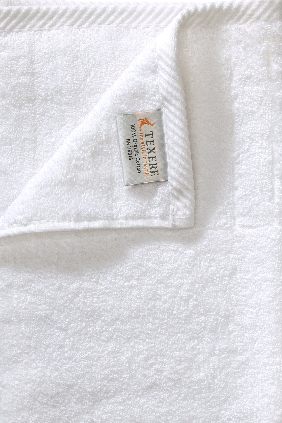 Bath Towel - Organic Cotton Dobby - TexereSilk
