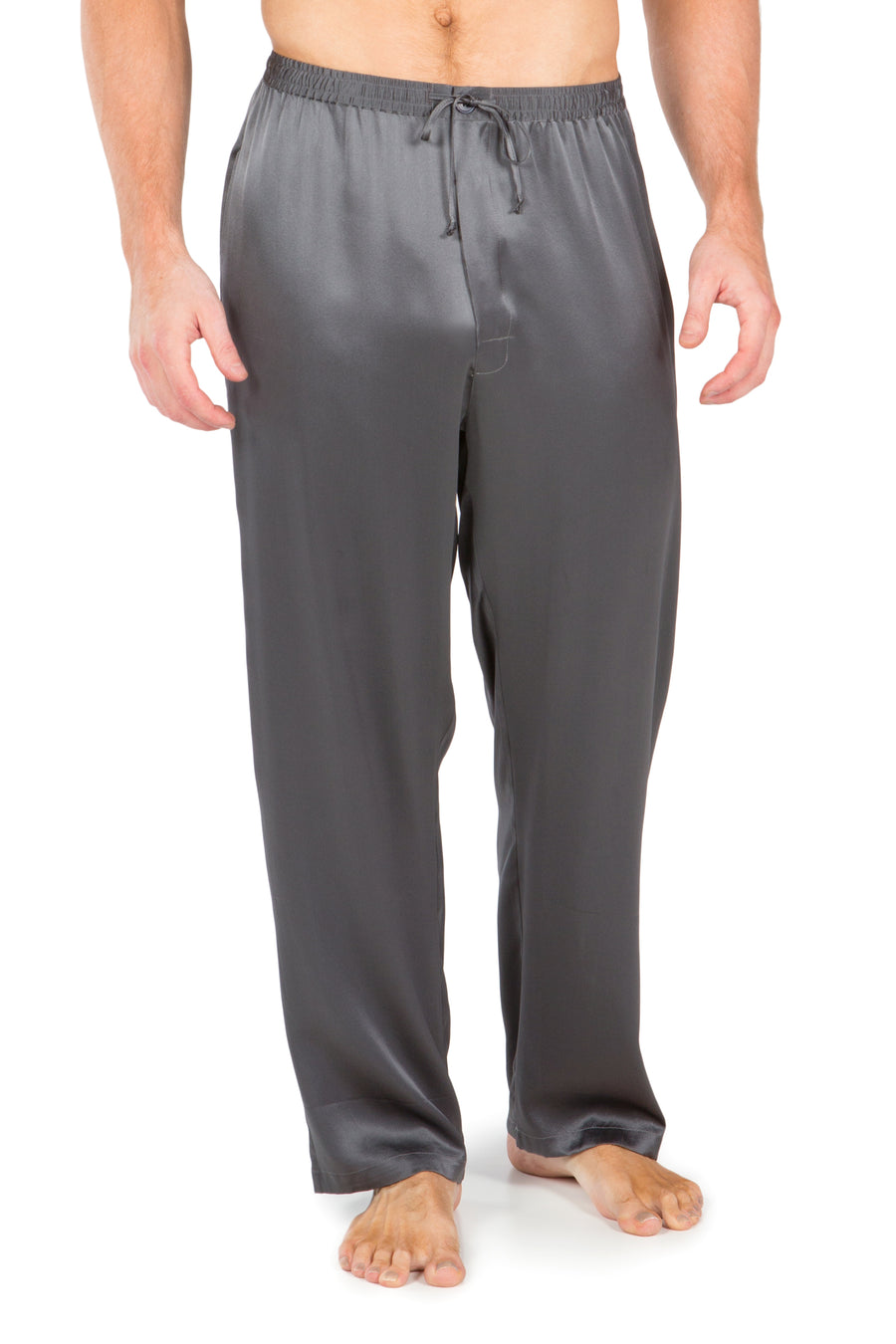 Hiruko - Men's Silk PJ Pants - testing23451234 - Pajamas