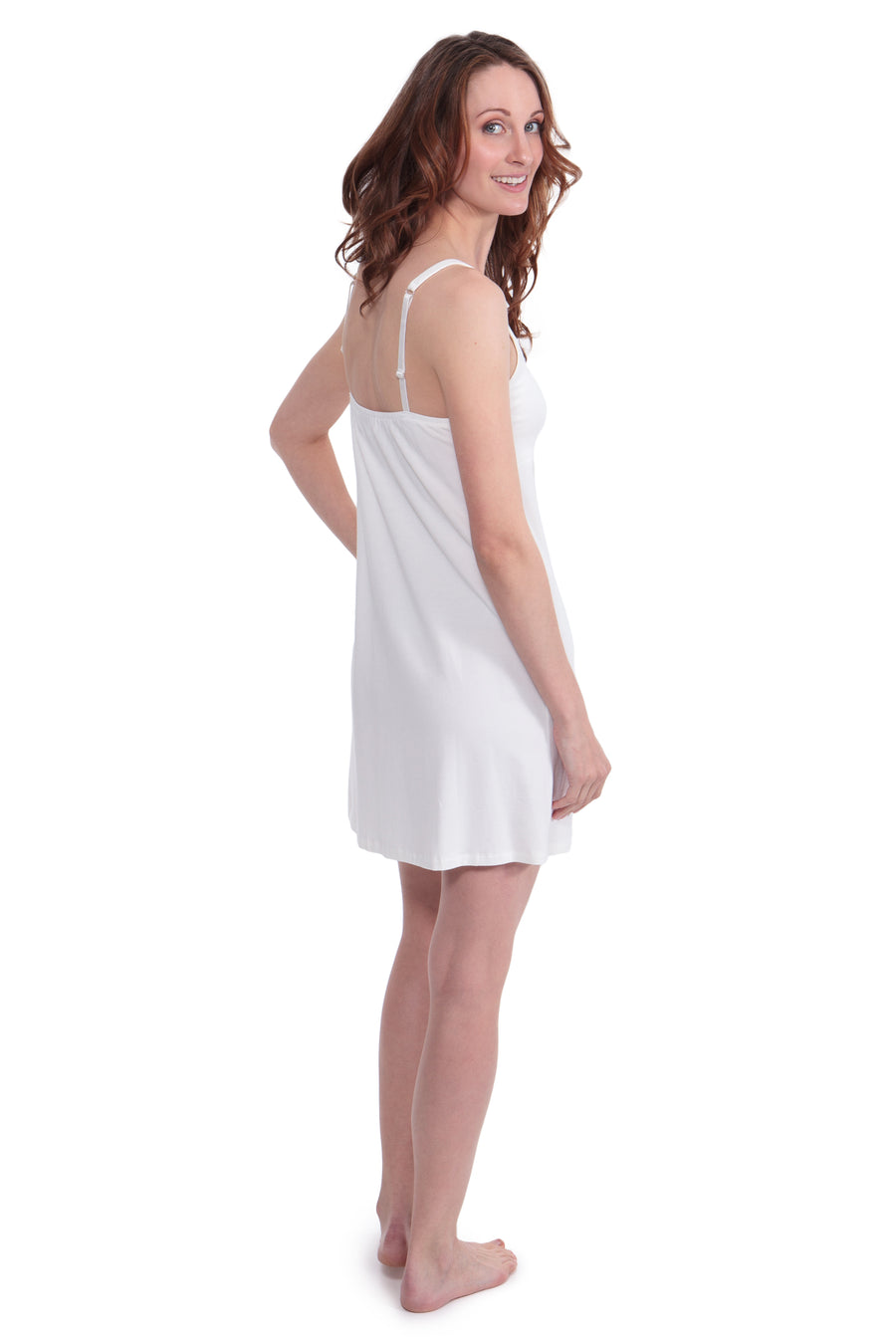 Tropical Romance - Women's Bamboo Viscose Nightgown - TexereSilk