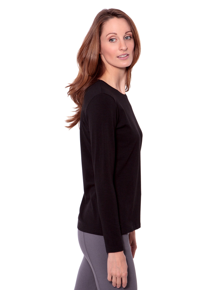Bellatee - Women's Bamboo Viscose Long Sleeve Top - testing23451234 - Tops