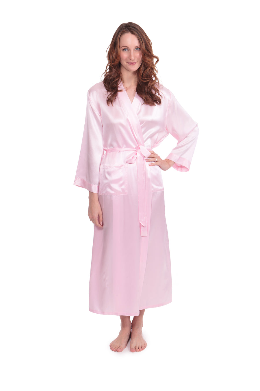 Perla Naturale - Women's Silk Long Robe - TexereSilk
