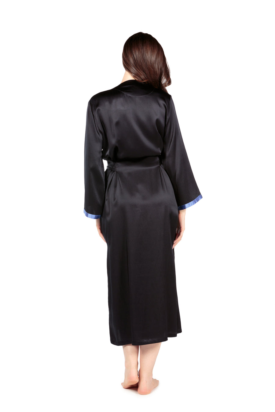 Beautibliss - Women's Silk Long Robe - TexereSilk