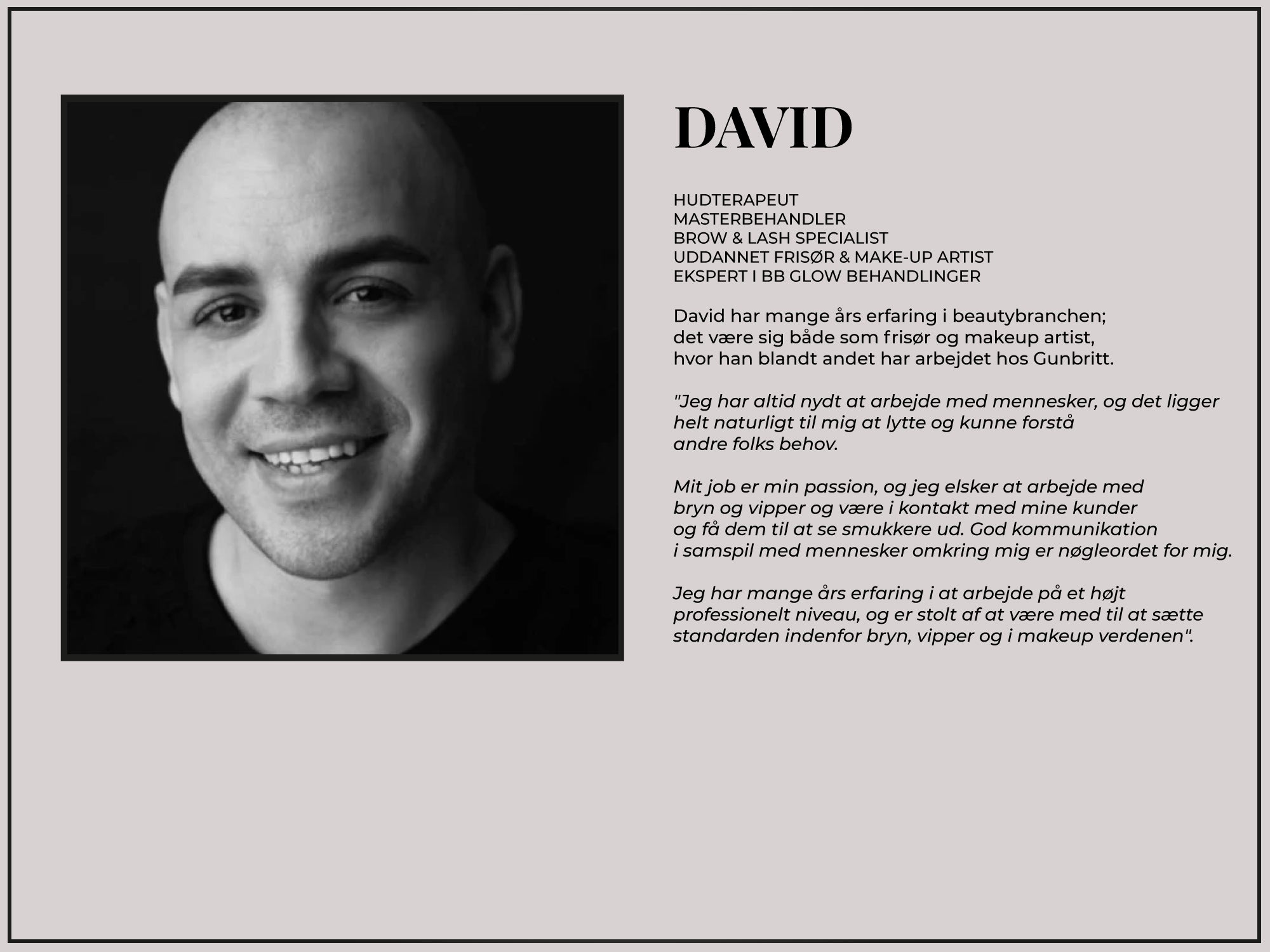 David | Holistic Beauty
