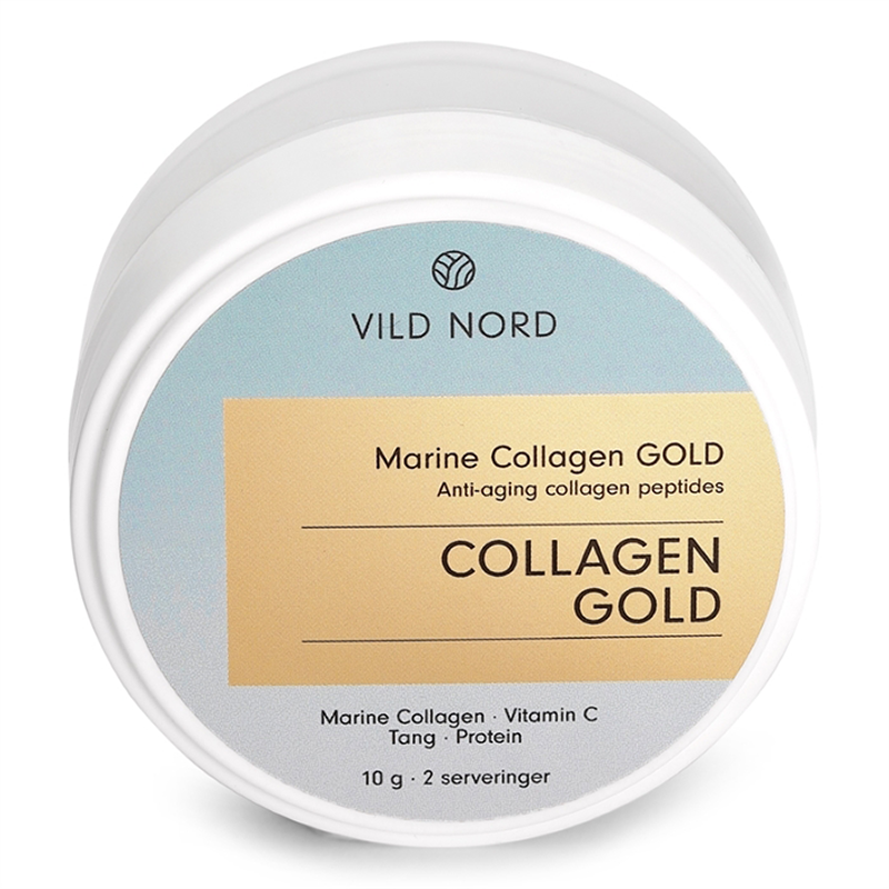 Vild Nord Marine Collagen Gold (Travel Size - 10 g) - Kollagenpulver