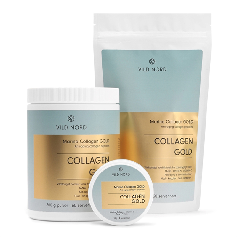 Vild Nord Marine Collagen Gold (150 g) - Kollagenpulver