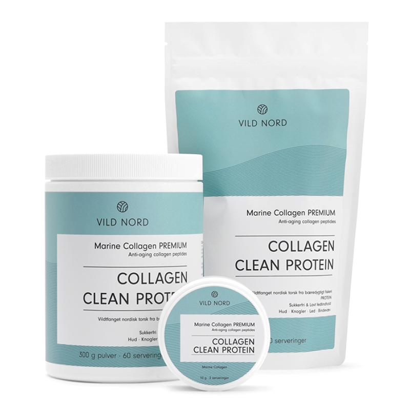 Vild Nord Marine Collagen Clean Protein (150 g) - Kollagenpulver