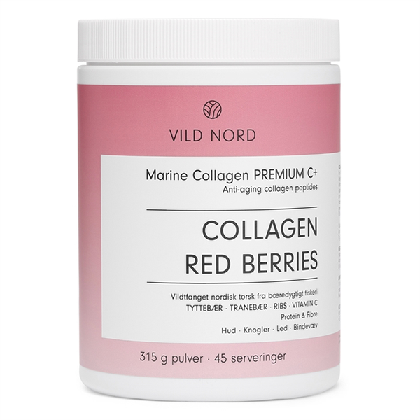 Vild Nord Marine Collagen Premium C+ Red Berries - 315 g