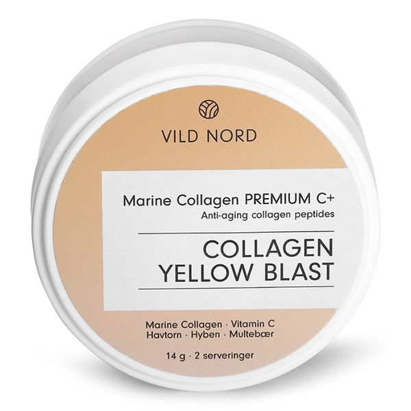 Vild Nord Marine Collagen Premium C+ Yellow Blast - Travel Size