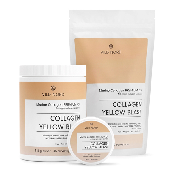 Vild Nord Marine Collagen Premium C+ Yellow Blast - 210 g