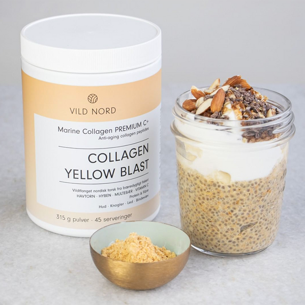 Vild Nord Marine Collagen Premium C+ Yellow Blast - 315 g