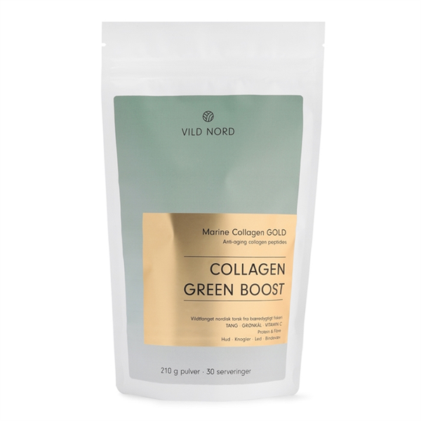 Vild Nord Marine Collagen Gold Green Boost - 210 g