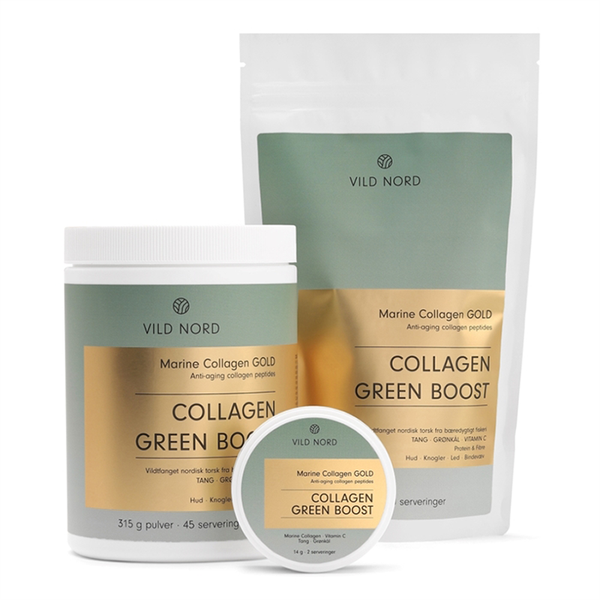 Vild Nord Marine Collagen Gold Green Boost - Travel Size