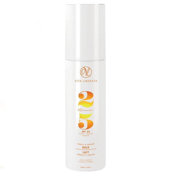Vita Liberata Neroli & Argan Milk SPF25 | Holistic Beauty