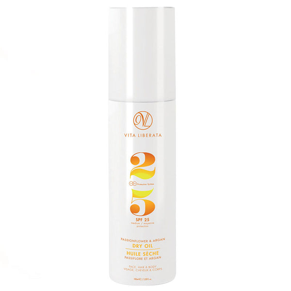 Vita Liberata Dry Oil SPF25 | Holistic Beauty
