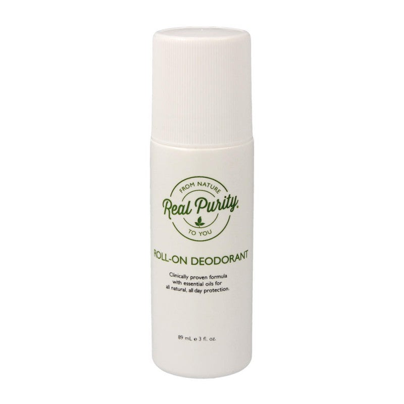 Real Purity Roll-On Deodorant.