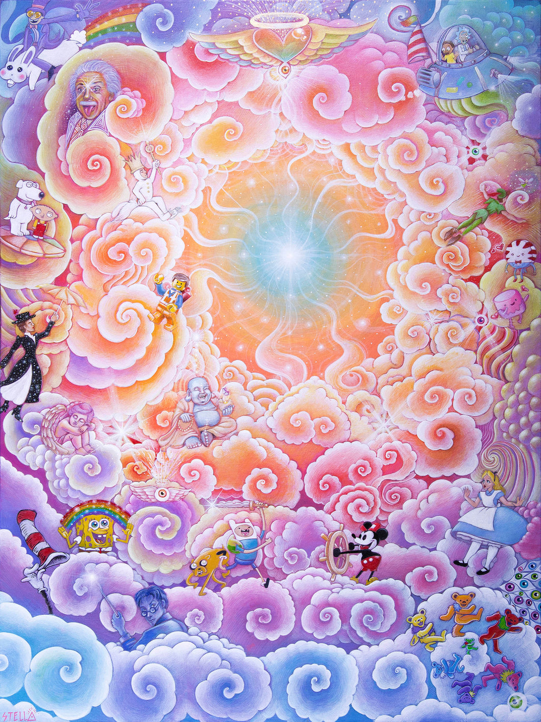 Divine Imagination Canvas Giclee