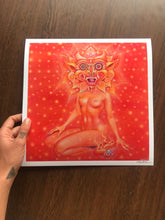 "Load image into Gallery viewer, Miss Psychedelia 12x 12"" Signed Open Edition"