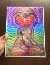 "Load image into Gallery viewer, Kundalini Rising 12x 16"" Signed Open Edition"