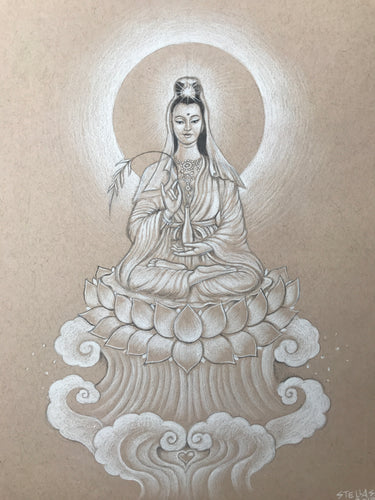 Quan Yin Original Drawing