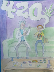 Rick and Morty 420 Sesh