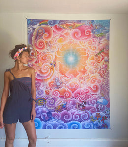 Divine Imagination Tapestry