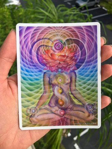 Kundalini Rising Sticker