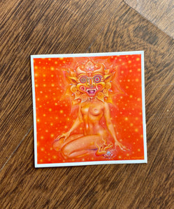 Miss Psychedelia Sticker