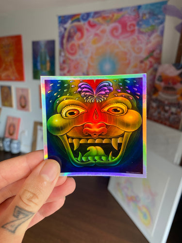 3rd Eye Ejaculation Celebration Sticker