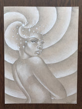 Load image into Gallery viewer, Celestial Goddess Original Drawing