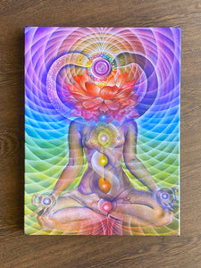 Kundalini Rising Stretched Canvas Giclee