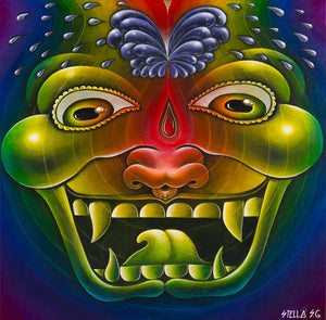 "Third Eye Ejaculation Celebration 12x12"" Print"