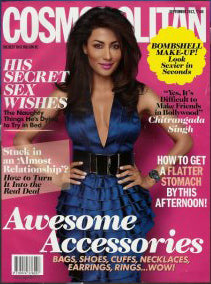 Malleka features in cosmo !