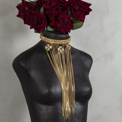 Gold bellini head piece