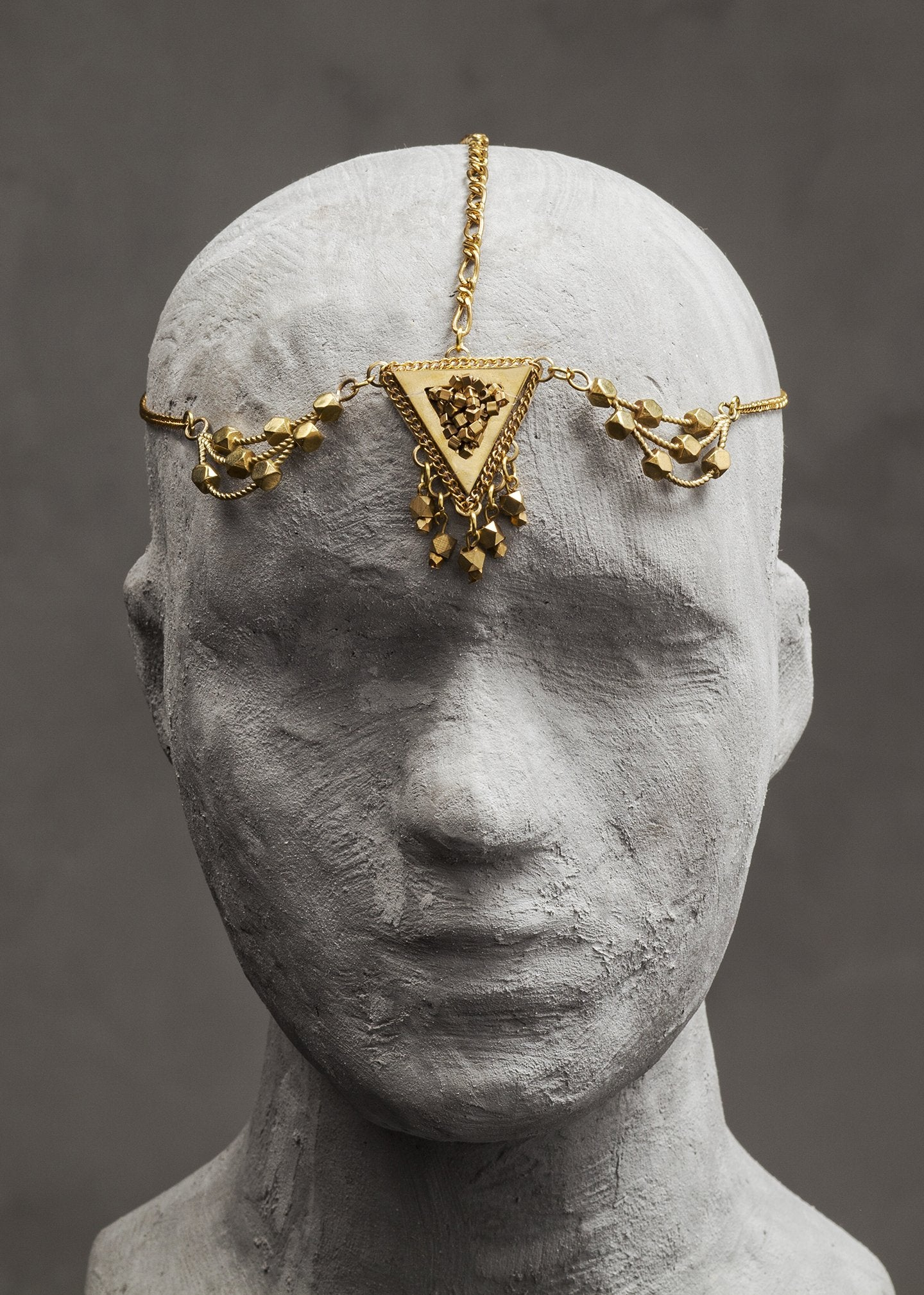 Gold Indil Head piece